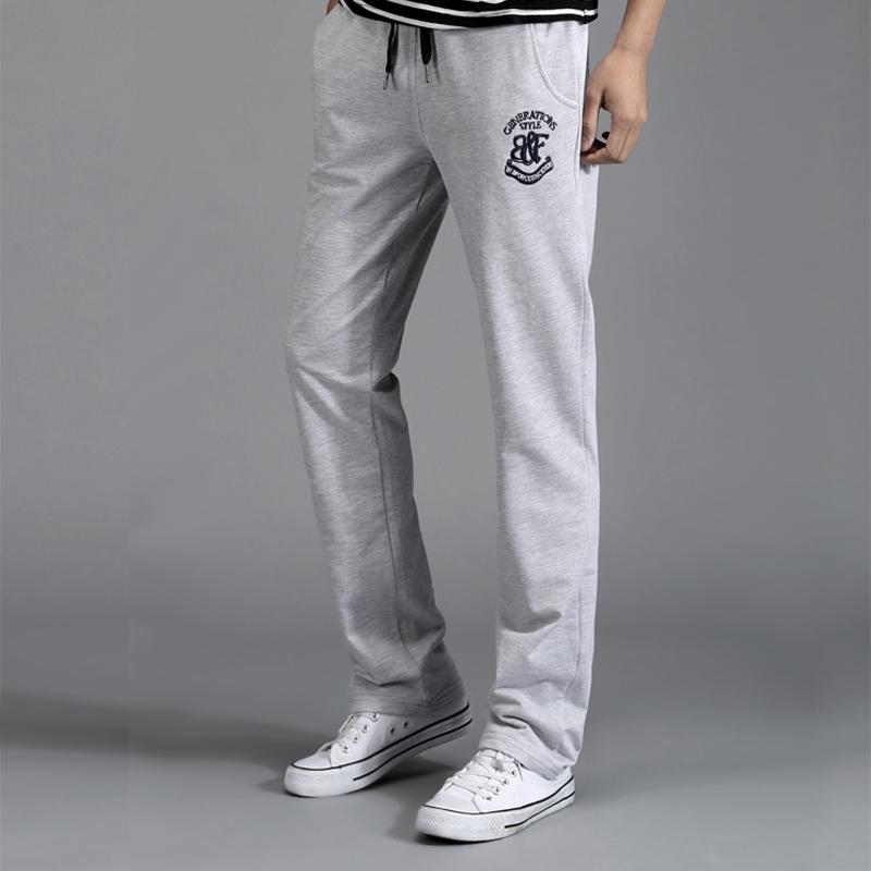 Pre Order กางเกงออกกำลังกาย ขายาวสกรีนลายคลาสสิก แต่งกระเป๋าข้าง มี4สี