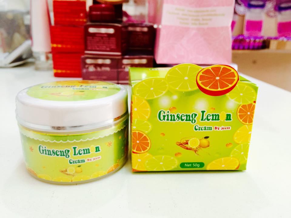 ครีมโสมมะนาว Ginseng Lemon by Jeezz