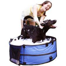 อ่างอาบน้ำสุนัข พับได้