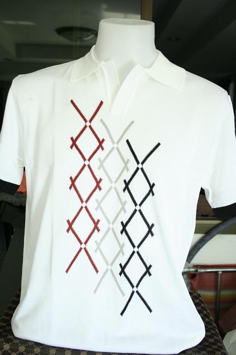 เสื้อยืดผู้ชาย แขนสั้น Cotton เนื้อดี รหัส MC1633 (Size M)