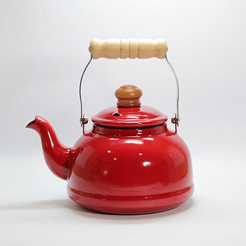 Vintage Enamel Kettle-2.3L