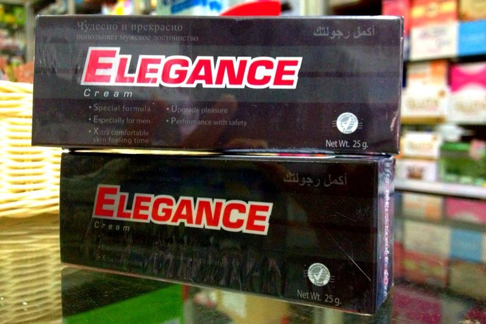 Elegance Cream for Men 25 g ครีมบำรุงผิวกายเฉพาะจุดสำหรับท่านชาย
