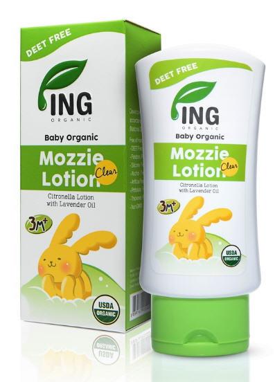 โลชั่นทาป้องกันยุงออร์แกนิค ขนาดมาตรฐาน 80ml : Baby Organic Mozzie Clear Lotion