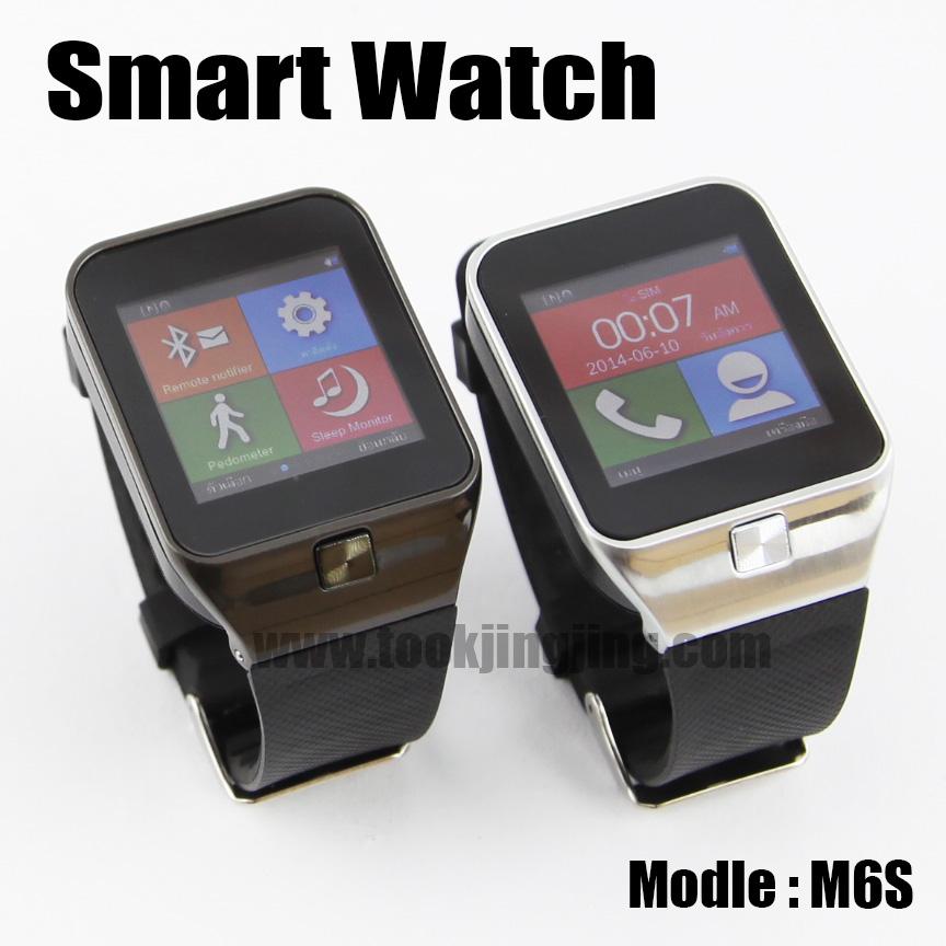 นาฬิกาโทรศัพท์ Smart Watch M6S Phone Watch ลดเหลือ 1,190 บาท ปกติ 4,140 บาท