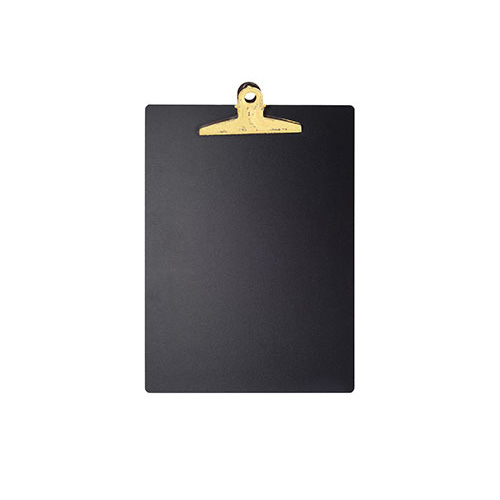 MDF Chalkboard Clipboard (Yellow)
