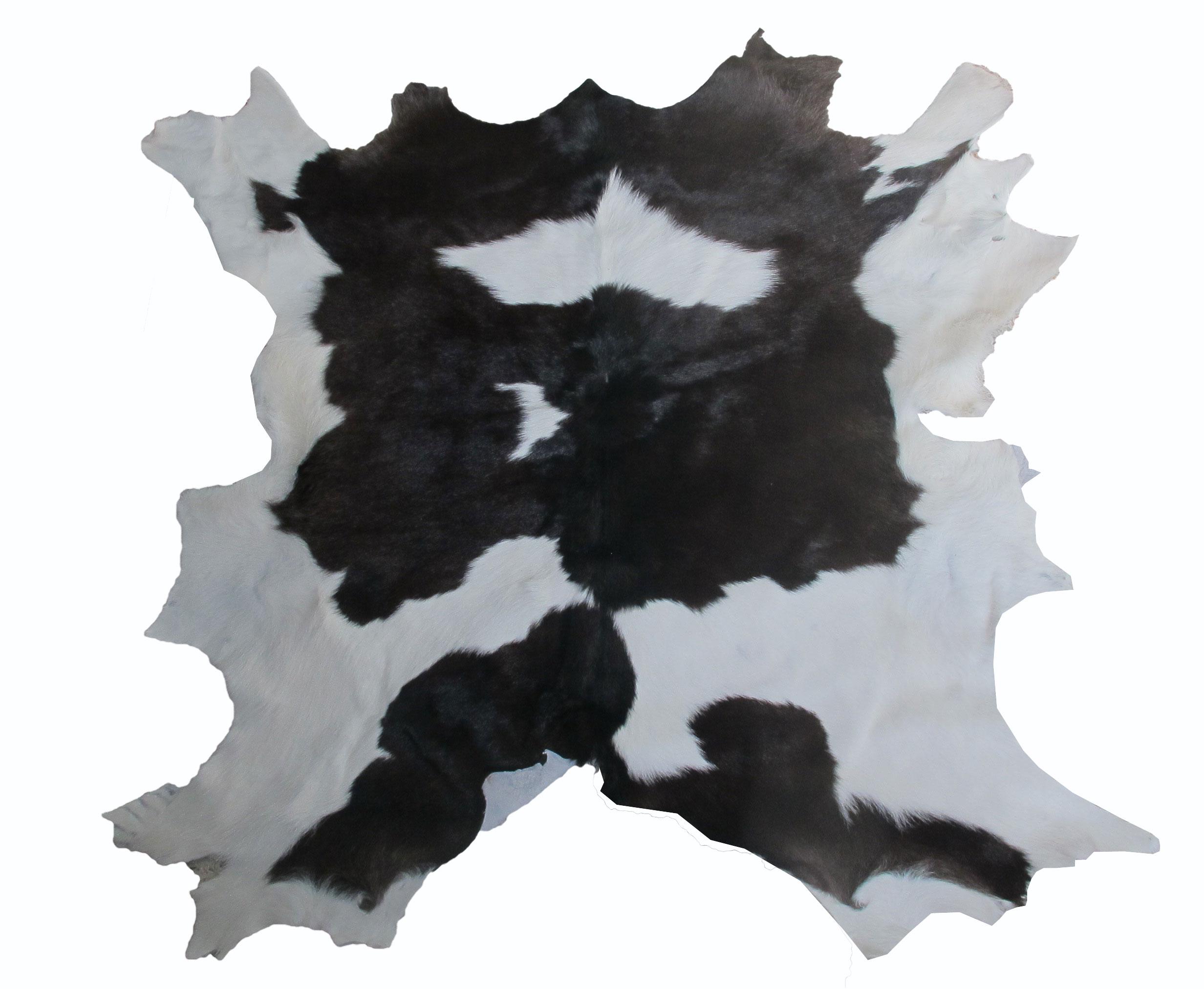 หนังขนลูกวัว ใช้สำหรับตกแต่งฝาผนังบ้าน หรือ ใช้เป็นผ้าปูโต๊ะแล้วเอากระจกทับ หรือ ผ้าคลุ่มเก้าอี้นั่ง