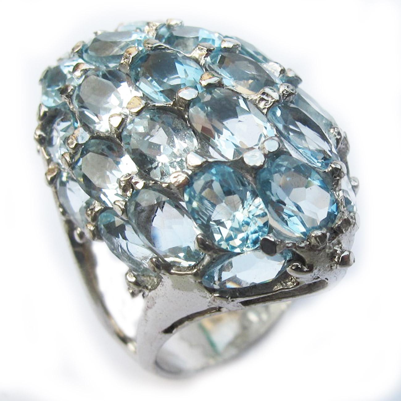 แหวนพลอย บลูโทแพส