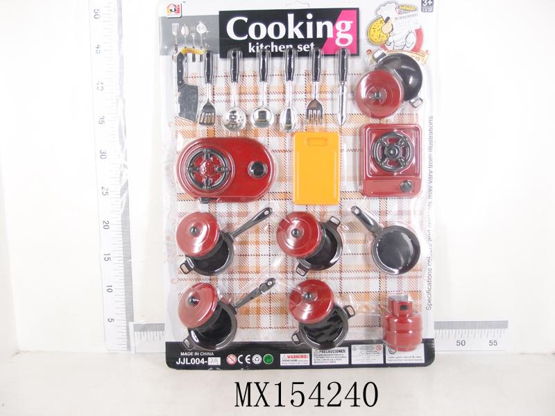 ชุดครัวแผงดำแดง รหัส 1254