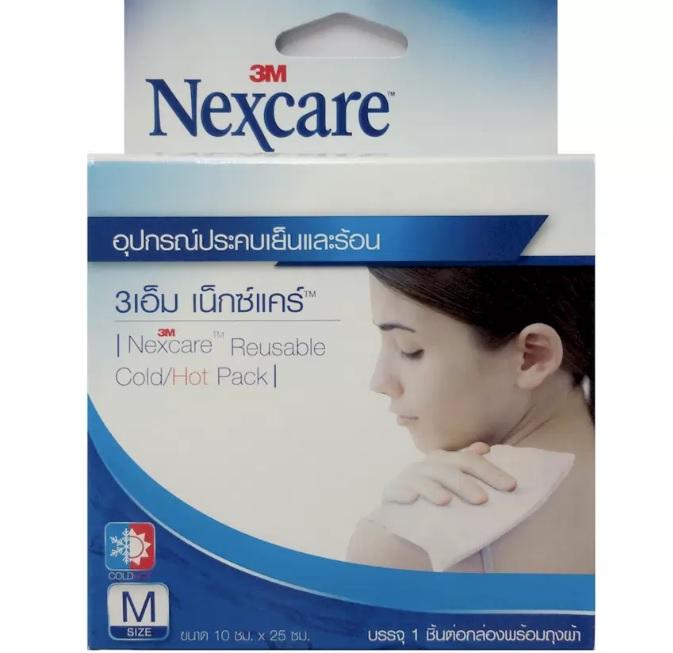 3M Nexcare Cold Hot Pack 3เอ็ม เน็กซ์แคร์ อุปกรณ์ประคบร้อนเย็น size M