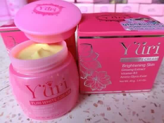 ครีมโสมยูริ Yuri White Cream 30g.