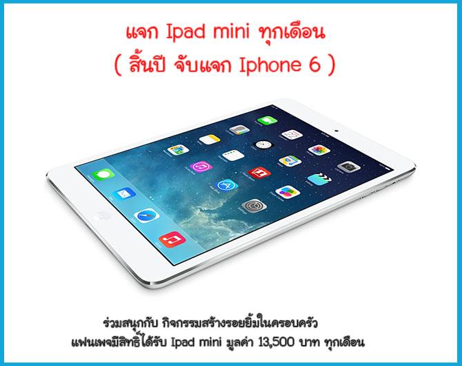 โปรโมชั่น แทรมโพลีน Ipad mini