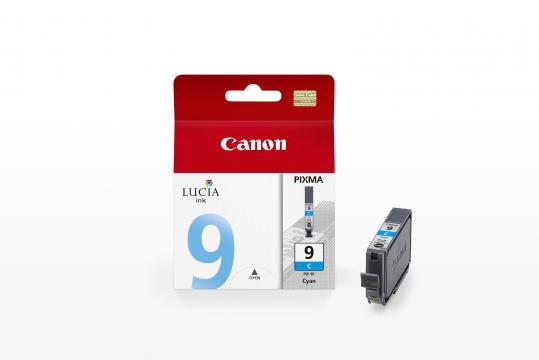 Canon PGI-9C ตลับหมึกอิงค์เจ็ท สีฟ้า Cyan Original Ink Cartridge