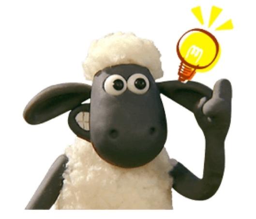 Shaun the Sheep Animated Stickers