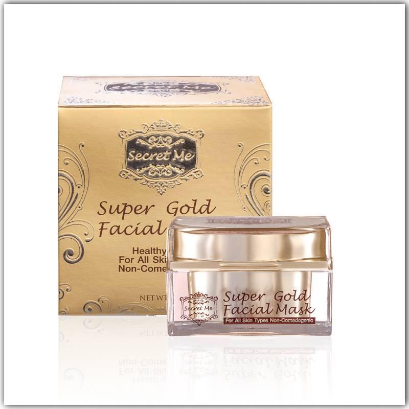Super Gold Facial Mask