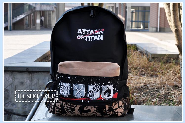 กระเป๋าเป้(Attack on Titan) ผ่าภิภพไททั่น ver.3