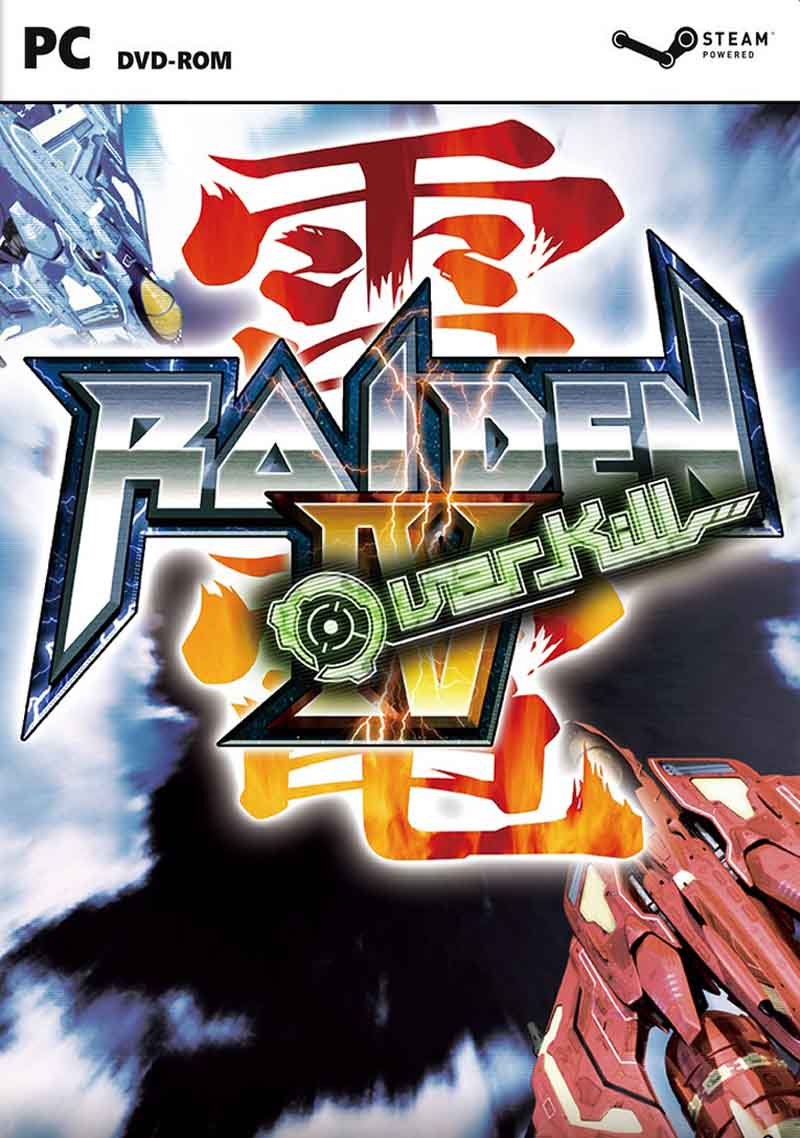 Raiden IV OverKill ( 1 DVD )