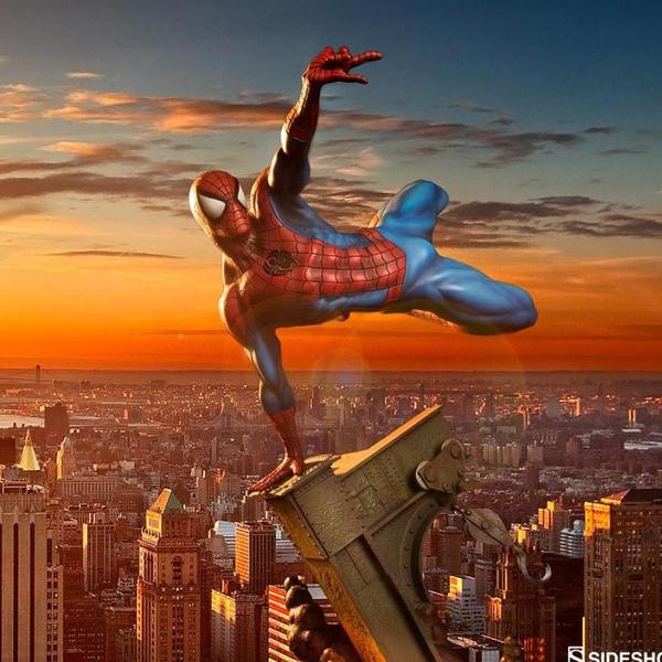 Spider Man Sideshow Figure (มีให้เลือก 2 แบบ)