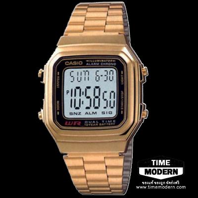 นาฬิกา Casio เรือนทองยอดนิยม รุ่น A-178WGA-1AVDF