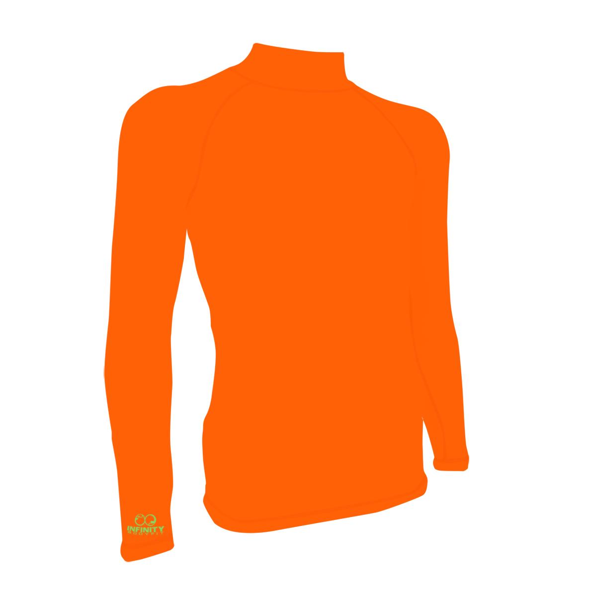 base layer - สีสะท้อนแสง Neon Orange