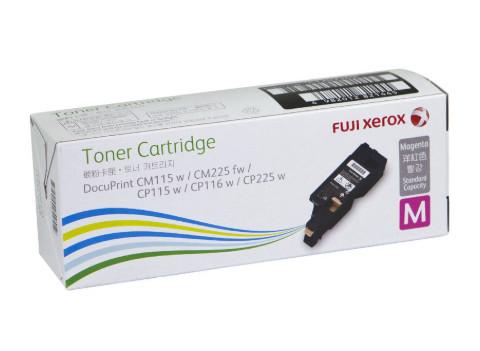 Fuji Xerox CT202269 ตลับหมึกโทนเนอร์ สีม่วงแดง ของแท้ Magenta Original Toner Cartridge