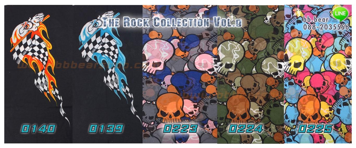 Headwear - The Rock Collection Vol.9 - 5 ผืน