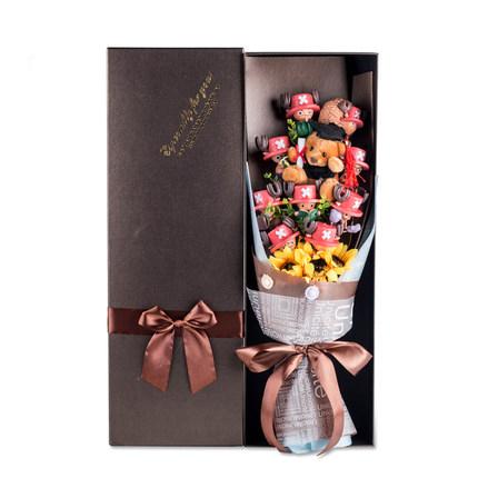 ช่อดอกไม้โมเดลการ์ตูนวันพีช(แบบที่ 8)