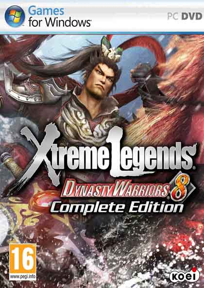 DYNASTY WARRIORS 8 Xtreme Legends Complete Edition ( 4 DVD )