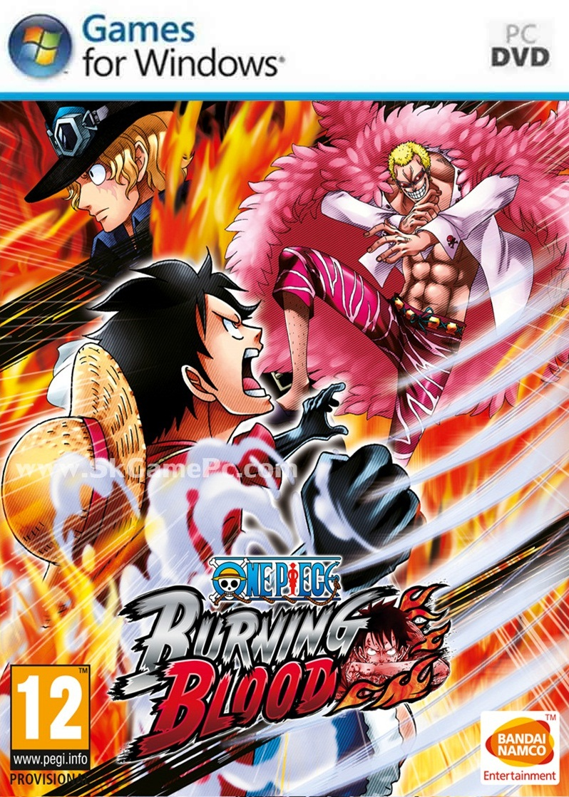 One Piece Burning Blood ( 3 DVD )