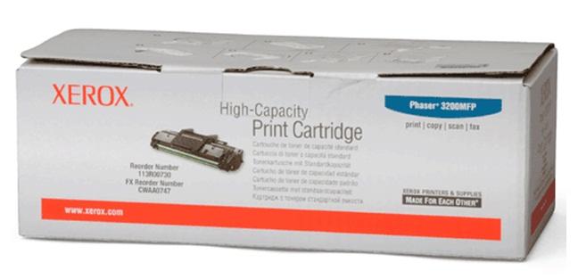 Fuji Xerox CWAA0747 ตลับหมึกโทนเนอร์ สีดำ Black Original Toner Cartridge