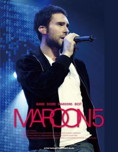 หนังสือโน้ตสำหรับวงดนตรี Maroon 5 Best Band Score
