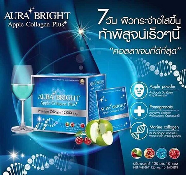 aura bright collagen