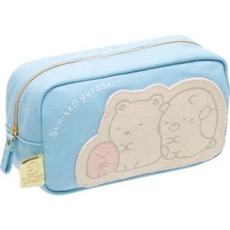 กระเป๋าดินสอ Sumikko Gurashi สีฟ้า
