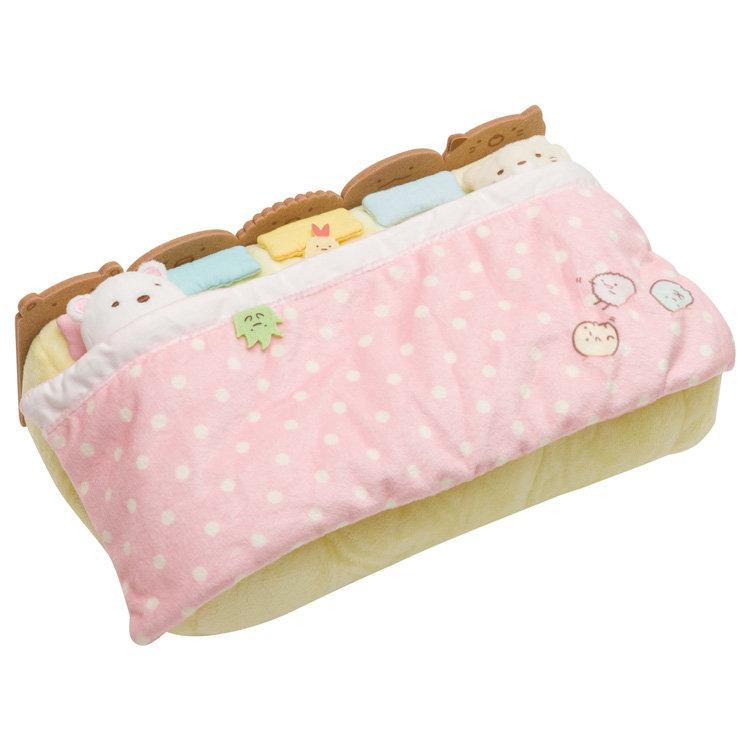 ปลอกใส่กล่องทิชชู่ Sumikko Gurashi เตียงยาว