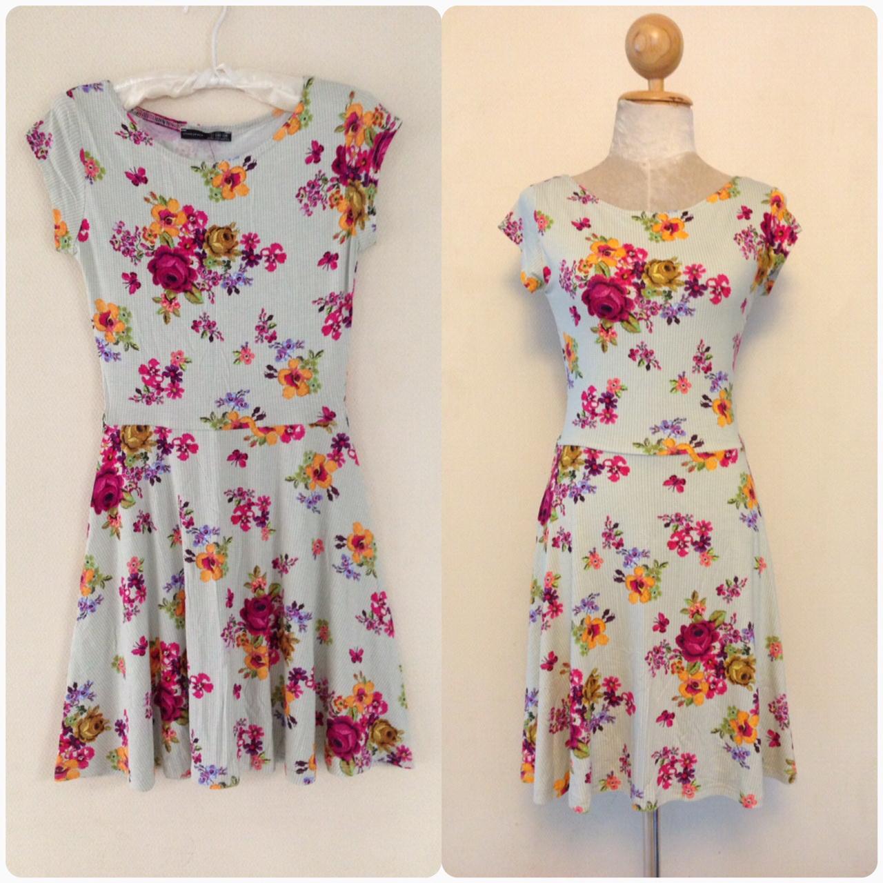 Primark Floral Dress Size Uk6-Uk8