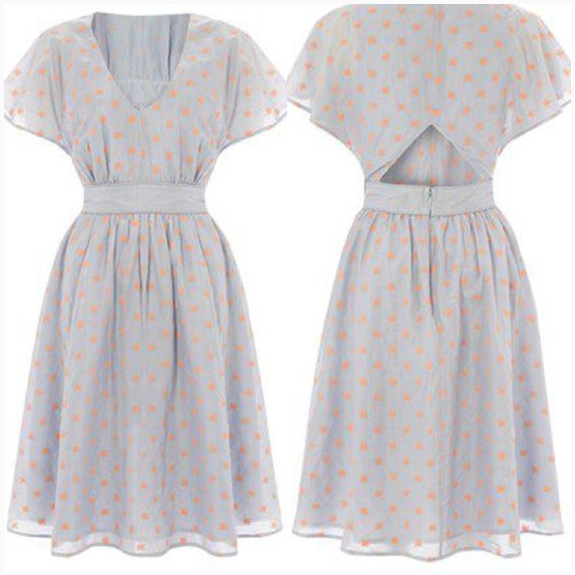 French Connection light blue Dress Size Uk10-Uk12